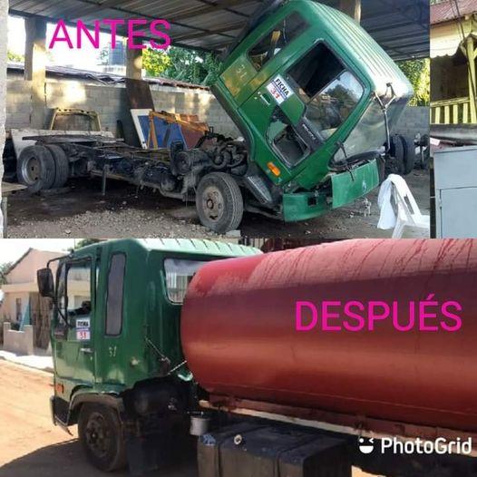 Alcaldia de Esperanza pone en funcionamiento camión Cisterna